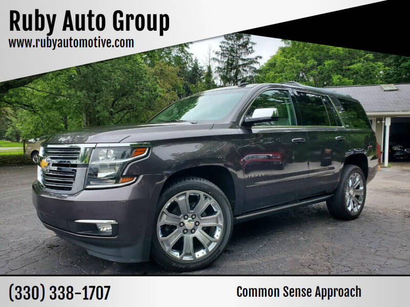 2016 Chevrolet Tahoe for sale at Ruby Auto Group in Hudson OH