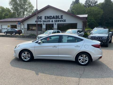 2019 Hyundai Elantra for sale at Dependable Auto Sales and Service in Binghamton NY