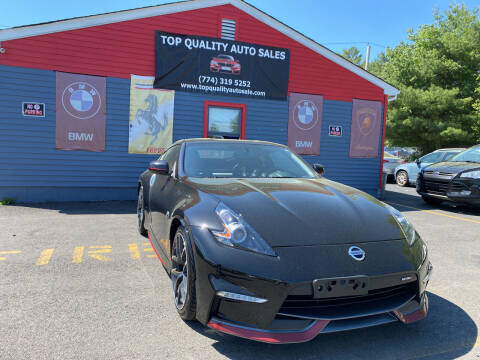 2015 Nissan 370Z for sale at Top Quality Auto Sales in Westport MA