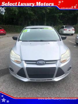 2013 Ford Focus for sale at Select Luxury Motors in Cumming GA