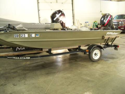 2001 Fisher 1648 JON BOAT for sale at Tyndall Motors in Tyndall SD