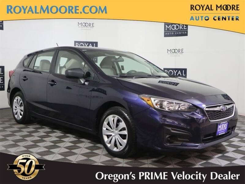 2019 Subaru Impreza for sale at Royal Moore Custom Finance in Hillsboro OR