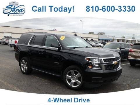 2019 Chevrolet Tahoe for sale at Erick's Used Car Factory in Flint MI