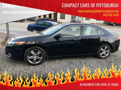 2012 Acura TSX for sale at Compact Cars of Pittsburgh in Pittsburgh PA