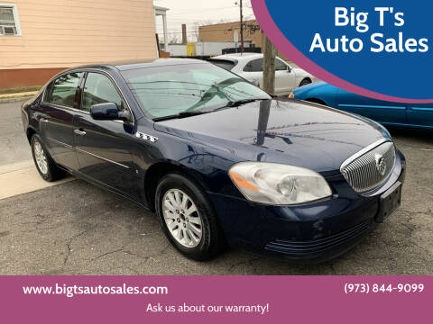 2008 Buick Lucerne for sale at Big T's Auto Sales in Belleville NJ
