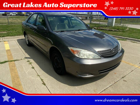 2004 Toyota Camry for sale at Great Lakes Auto Superstore in Waterford Township MI