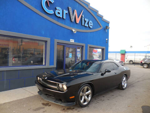 2013 Dodge Challenger for sale at Carwize in Detroit MI