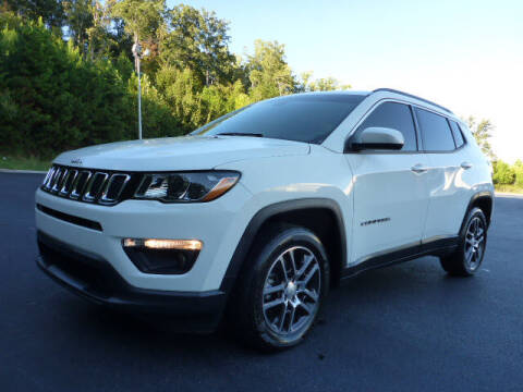 2018 Jeep Compass for sale at RUSTY WALLACE KIA OF KNOXVILLE in Knoxville TN