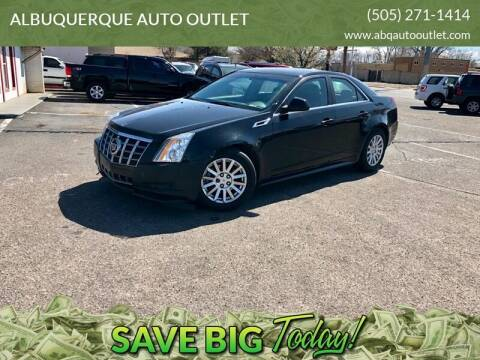 2012 Cadillac CTS for sale at ALBUQUERQUE AUTO OUTLET in Albuquerque NM