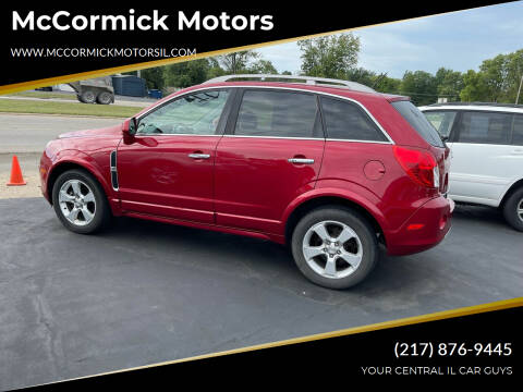 2015 Chevrolet Captiva Sport for sale at McCormick Motors in Decatur IL
