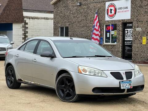2008 Pontiac G6 for sale at Big Man Motors in Farmington MN