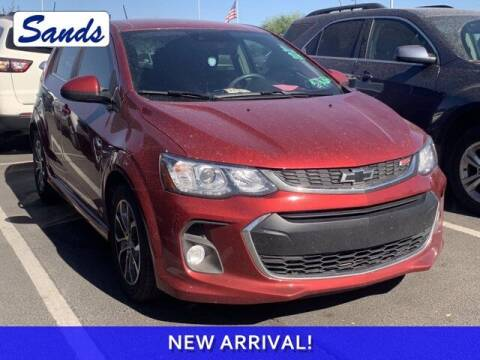 2018 Chevrolet Sonic for sale at Sands Chevrolet in Surprise AZ