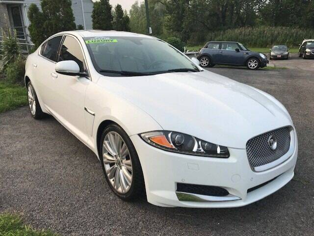 2012 Jaguar XF for sale at FUSION AUTO SALES in Spencerport NY