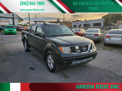 2005 Nissan Frontier for sale at Green Ride Inc in Nashville TN