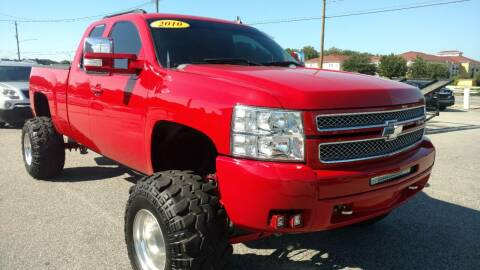 2010 Chevrolet Silverado 1500 for sale at Kelly & Kelly Supermarket of Cars in Fayetteville NC