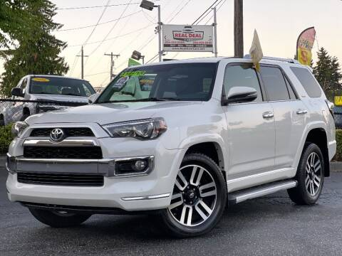 2016 Toyota 4Runner for sale at Real Deal Cars in Everett WA