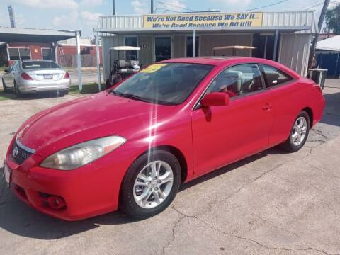 2008 Toyota Camry Solara for sale at Taylor Trading Co in Beaumont TX