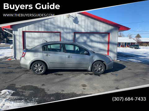 2008 Nissan Sentra for sale at Buyers Guide in Buffalo WY