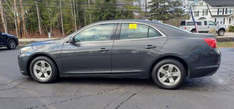 2014 Chevrolet Malibu for sale at Healey Auto in Rochester NH