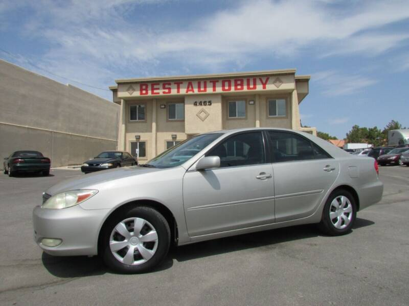 2003 Toyota Camry for sale at Best Auto Buy in Las Vegas NV
