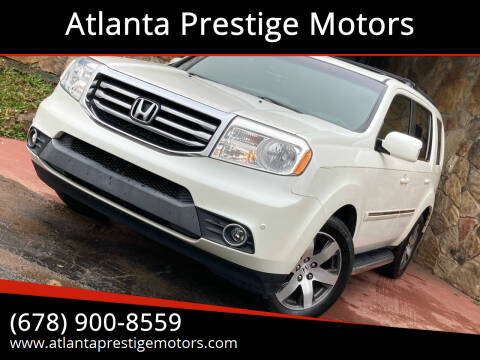 2012 Honda Pilot for sale at Atlanta Prestige Motors in Decatur GA