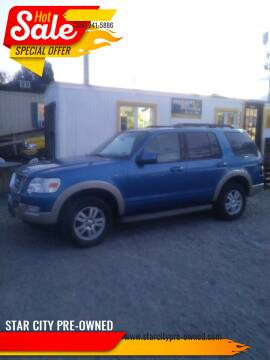 2010 Ford Explorer for sale at STAR CITY PRE-OWNED in Morgantown WV