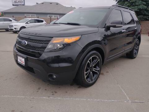 2013 Ford Explorer for sale at Triangle Auto Sales 2 in Omaha NE
