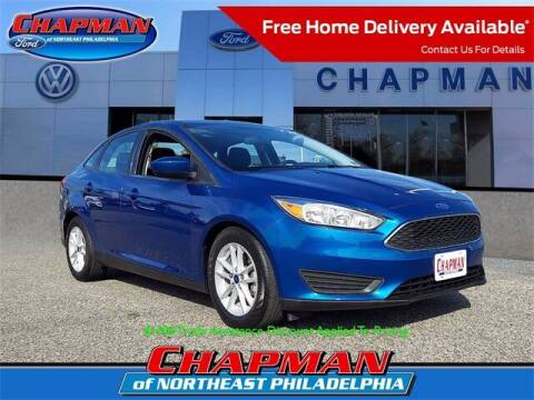 2018 Ford Focus for sale at CHAPMAN FORD NORTHEAST PHILADELPHIA in Philadelphia PA