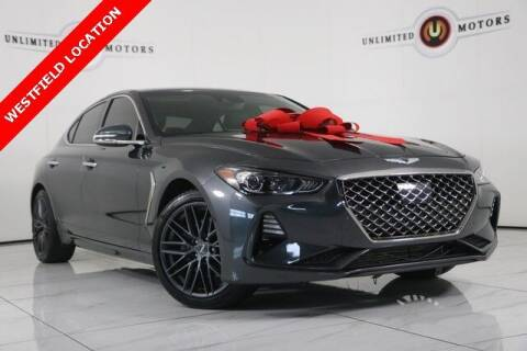 2019 Genesis G70 for sale at INDY'S UNLIMITED MOTORS - UNLIMITED MOTORS in Westfield IN