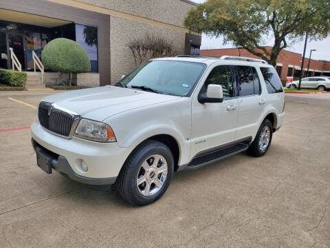 2004 Lincoln Aviator for sale at DFW Autohaus in Dallas TX