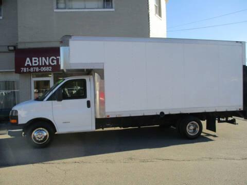 2014 GMC Savana Cutaway for sale at Abington Auto Mall LLC in Abington MA