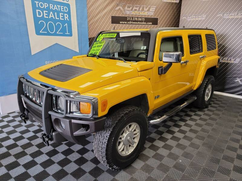 2006 HUMMER H3 for sale at X Drive Auto Sales Inc. in Dearborn Heights MI