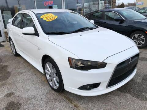 2014 Mitsubishi Lancer for sale at Jose's Auto Sales Inc in Gurnee IL