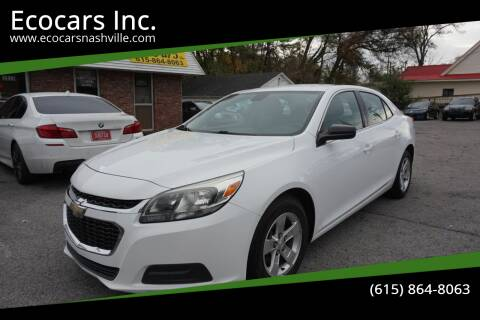 2015 Chevrolet Malibu for sale at Ecocars Inc. in Nashville TN