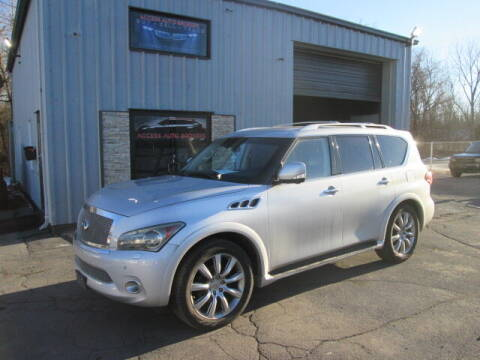 2012 Infiniti QX56 for sale at Access Auto Brokers in Hagerstown MD
