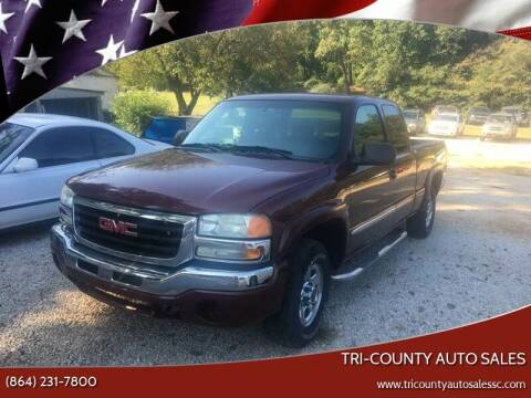 2003 GMC Sierra 1500 for sale at Tri-County Auto Sales in Pendleton SC