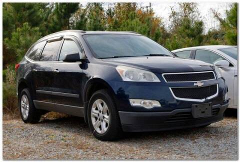 2011 Chevrolet Traverse for sale at WHITE MOTORS INC in Roanoke Rapids NC