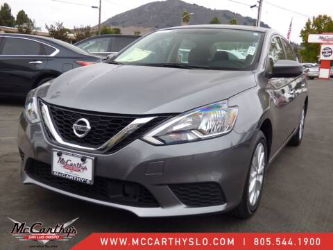 2019 Nissan Sentra for sale at McCarthy Wholesale in San Luis Obispo CA