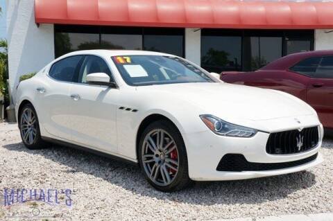 2017 Maserati Ghibli for sale at Michael's Auto Sales Corp in Hollywood FL