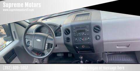2005 Ford F-150 for sale at Supreme Motors in Tavares FL
