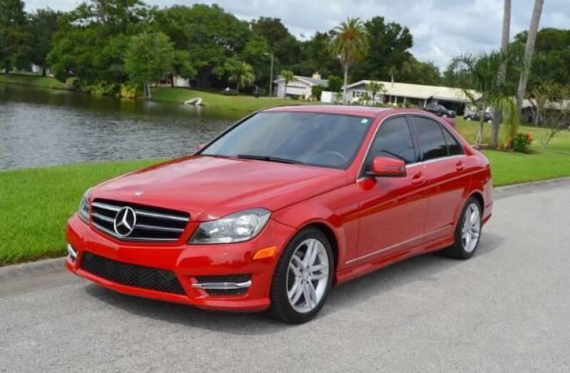 2014 Mercedes-Benz C-Class for sale at GTR Motors in Davie FL