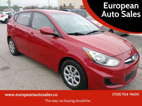 2012 Hyundai Accent for sale at European Auto Sales in Bridgeview IL