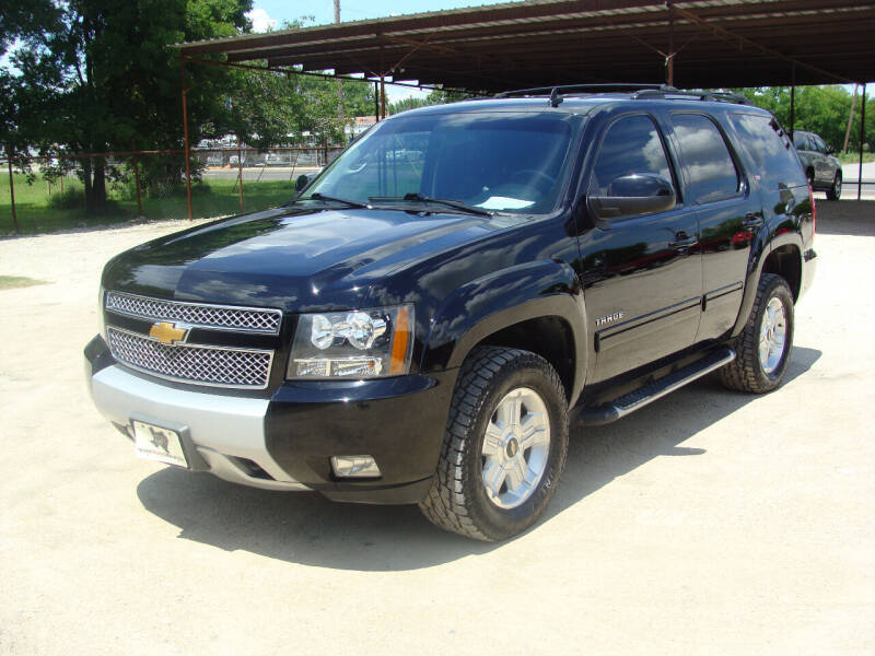 2012 Chevrolet Tahoe for sale at Texas Truck Deals in Corsicana TX