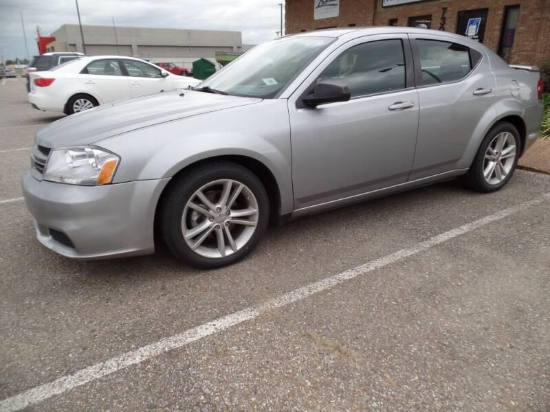 2014 Dodge Avenger for sale at Flywheel Motors, llc. in Olive Branch MS