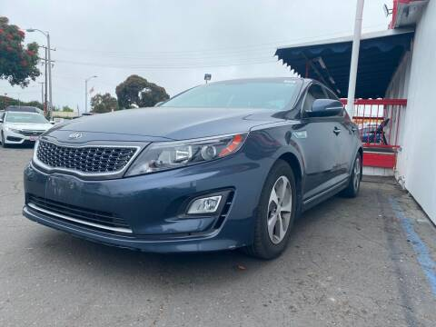 2014 Kia Optima Hybrid for sale at Auto Max of Ventura in Ventura CA