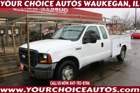 2006 Ford F-250 Super Duty for sale at Your Choice Autos - Waukegan in Waukegan IL