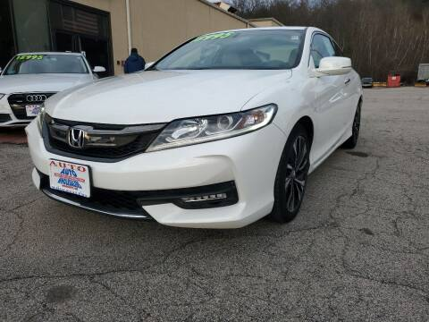 2016 Honda Accord for sale at Auto Wholesalers Of Hooksett in Hooksett NH