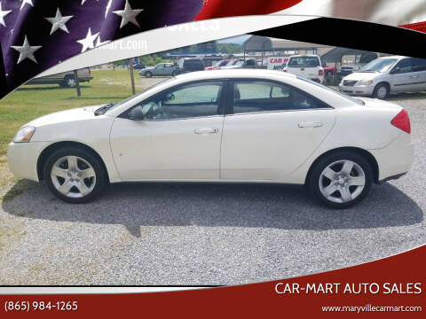 2009 Pontiac G6 for sale at CAR-MART AUTO SALES in Maryville TN