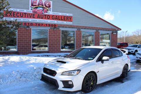 2018 Subaru WRX for sale at EXECUTIVE AUTO GALLERY INC in Walnutport PA