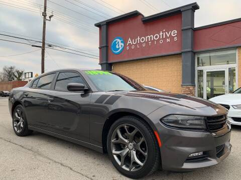 2015 Dodge Charger for sale at Automotive Solutions in Louisville KY